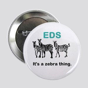 "Zebra Thing 2.25"" Button"
