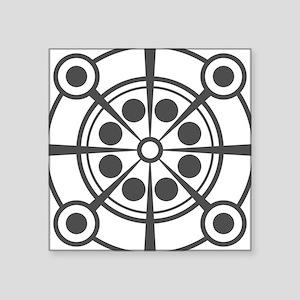 Crop Circle Inspired Original Illustration Sticker