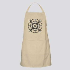 Crop Circle Inspired Original Illustration Apron