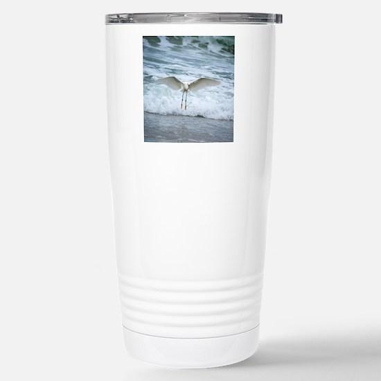 Born of sea-foam Travel Mug
