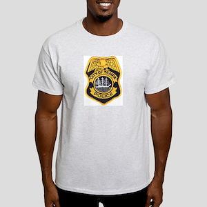 Tampa Police Ash Grey T-Shirt
