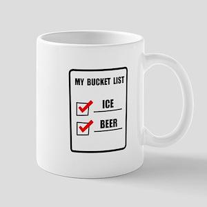Bucket List Beer Mug