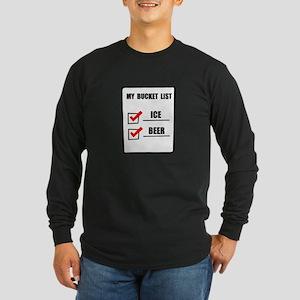Bucket List Beer Long Sleeve T-Shirt