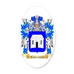 Casanovas Oval Car Magnet