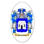Casanovas Sticker (Oval)
