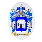 Casanovas Ornament (Oval)