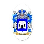 Casanova Oval Car Magnet
