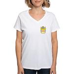 Casaccio Women's V-Neck T-Shirt