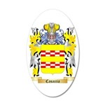 Casaccia 35x21 Oval Wall Decal