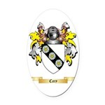 Cary Oval Car Magnet