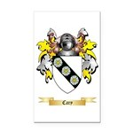 Cary Rectangle Car Magnet
