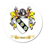 Cary Round Car Magnet