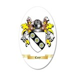 Cary 20x12 Oval Wall Decal