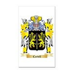Carvill Rectangle Car Magnet