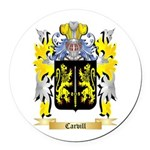Carvill Round Car Magnet