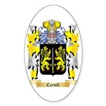Carvill Sticker (Oval 50 pk)