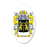 Carvill 20x12 Oval Wall Decal