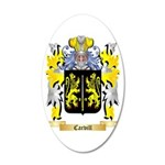 Carvill 35x21 Oval Wall Decal