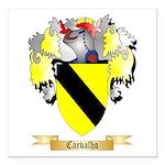 Carvalho Square Car Magnet 3
