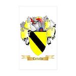 Carvalho Sticker (Rectangle 10 pk)