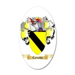 Carvalho 35x21 Oval Wall Decal