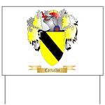 Carvalho Yard Sign