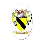 Carvalhal Oval Car Magnet