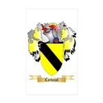 Carvajal Sticker (Rectangle 10 pk)