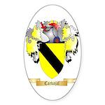 Carvajal Sticker (Oval 50 pk)
