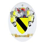 Carvajal Ornament (Oval)