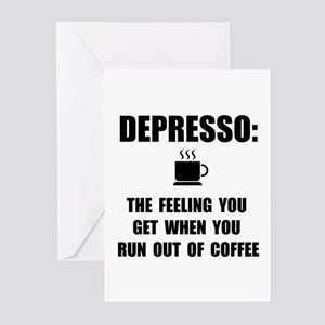 Depresso Coffee Greeting Cards (Pk of 20)
