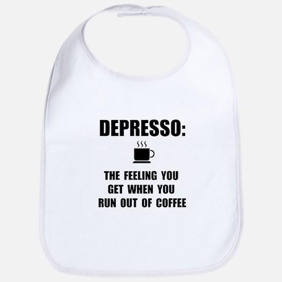 Depresso Coffee Bib