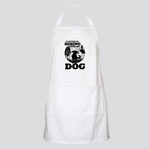 I'd Rather Be Hiking With My Dog Scene Apron