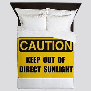 Direct Sunlight Queen Duvet