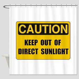 Direct Sunlight Shower Curtain