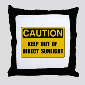 Direct Sunlight Throw Pillow