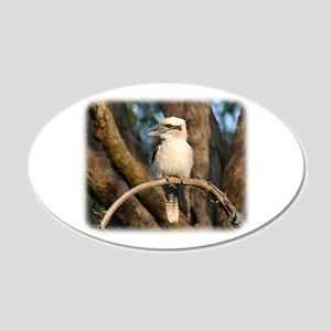 Kookaburra 9Y172D-002 20x12 Oval Wall Decal