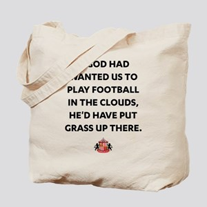 If God Wanted Us to Play Football Tote Bag