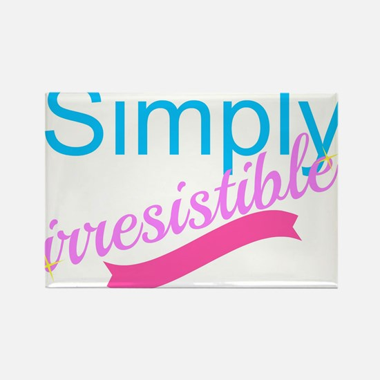 Simply Irresistible Rectangle Magnet
