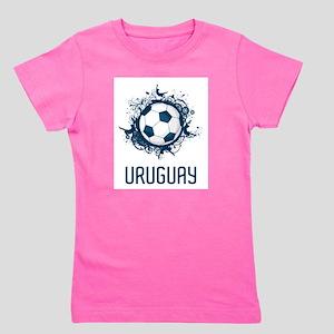 Uruguay Football Girl's Tee