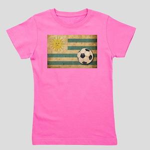 Vintage Uruguay Football Girl's Tee