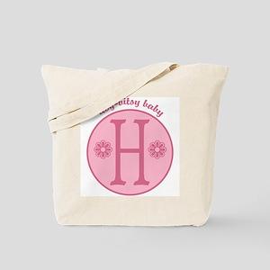 Baby H Tote Bag