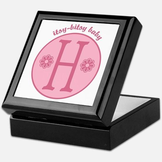 Baby H Keepsake Box