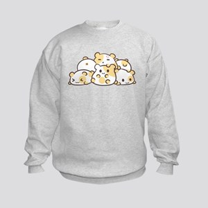 Kawaii Hamster Pile Sweatshirt