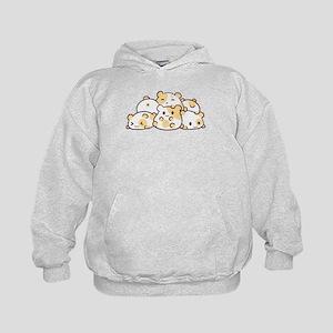 Kawaii Hamster Pile Hoodie