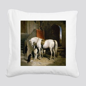 Prince George's Favorites Square Canvas Pillow