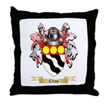 Climo Throw Pillow