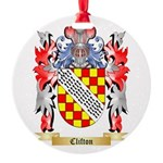 Clifton Round Ornament