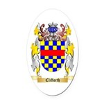 Clifforth Oval Car Magnet