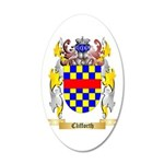 Clifforth 20x12 Oval Wall Decal